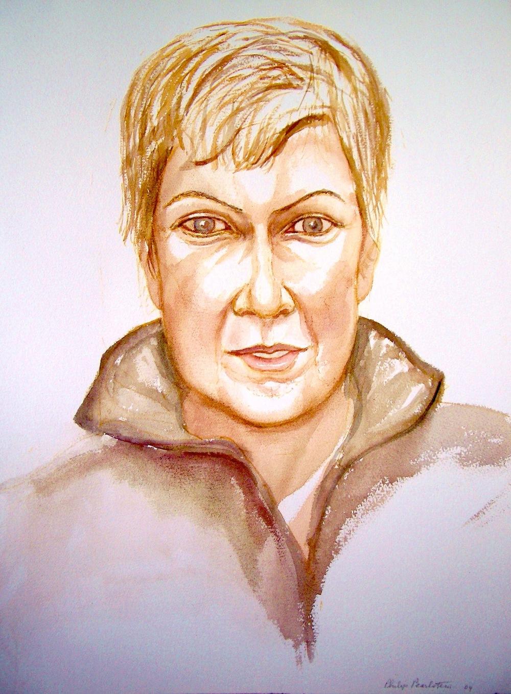 Amy Fusselman , 2004 Watercolor