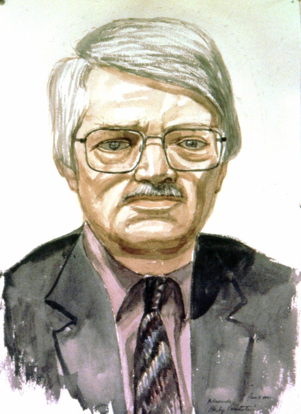 Alexander Ducker , 2001 Watercolor