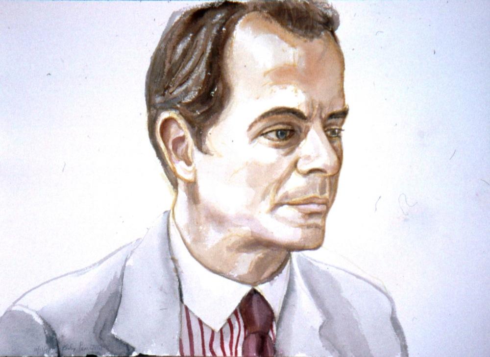 Arnold Brizzi , 1998 Watercolor