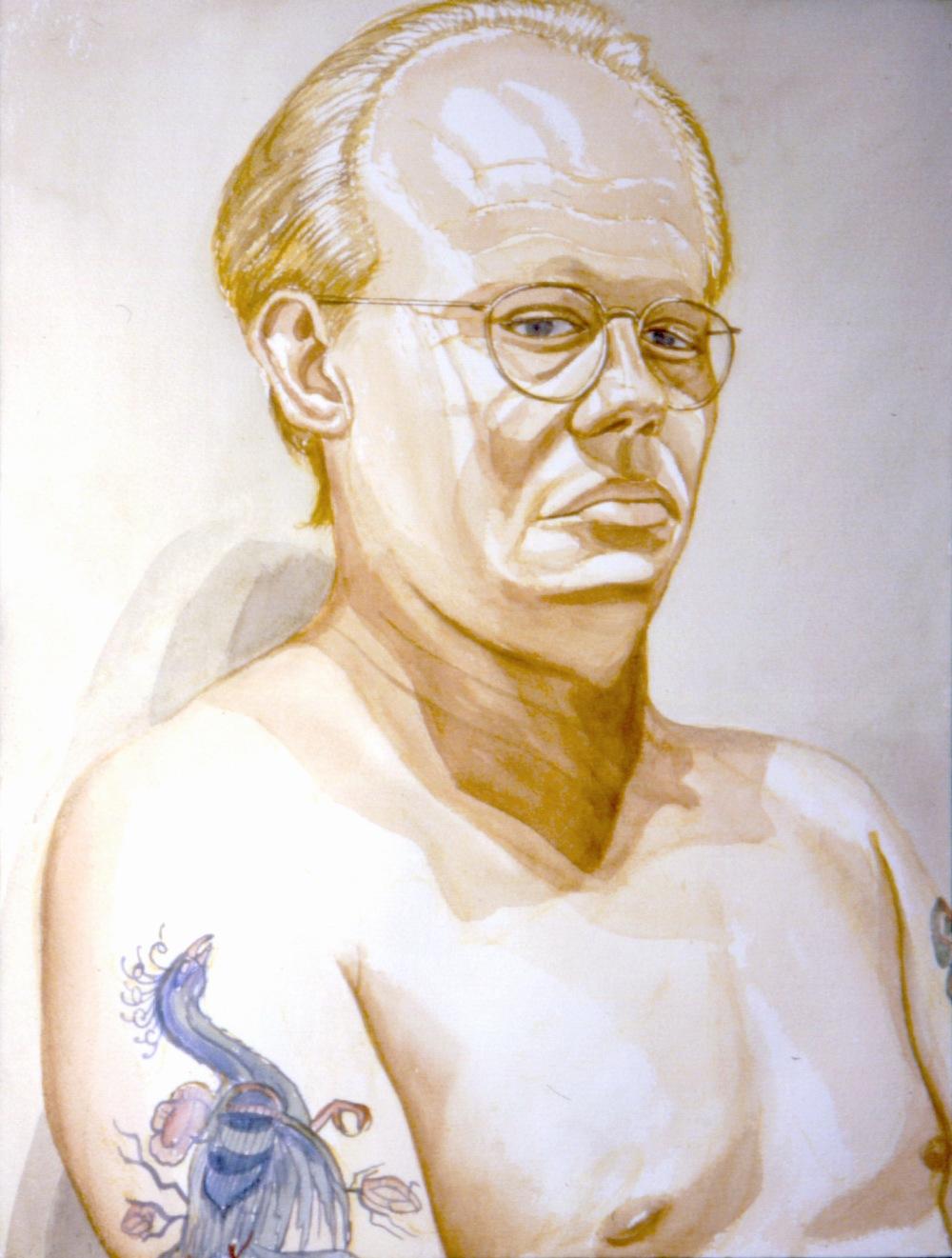 Dick Beebe , 1994 Watercolor