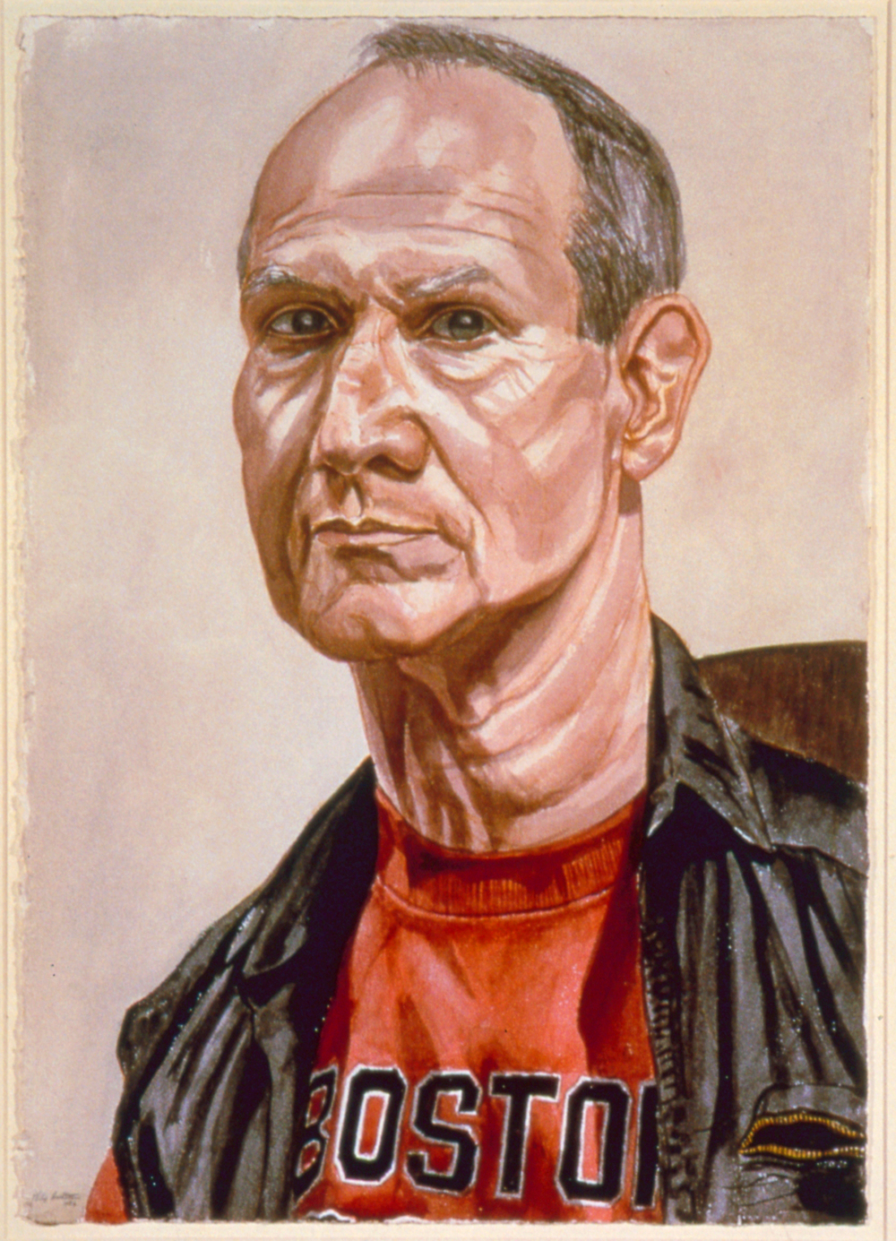 Jack Mitchell , 1986 Watercolor 29.25 x 20.625 in