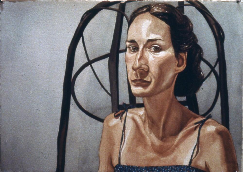 Katherine Sokolnikoff , 1980 Watercolor