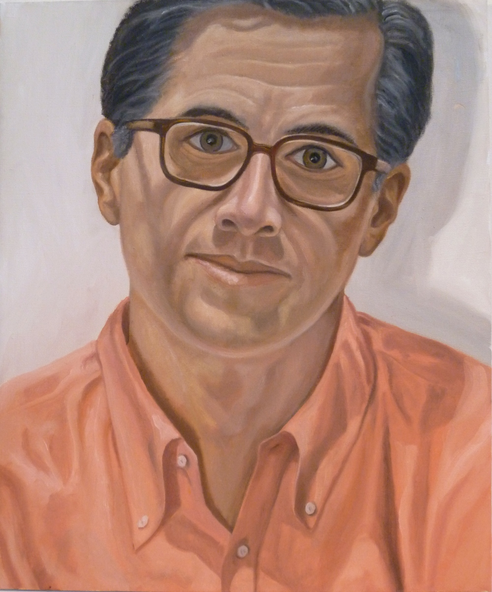Dr. James Marion , 2010 Oil on canvas 24 x 20 in