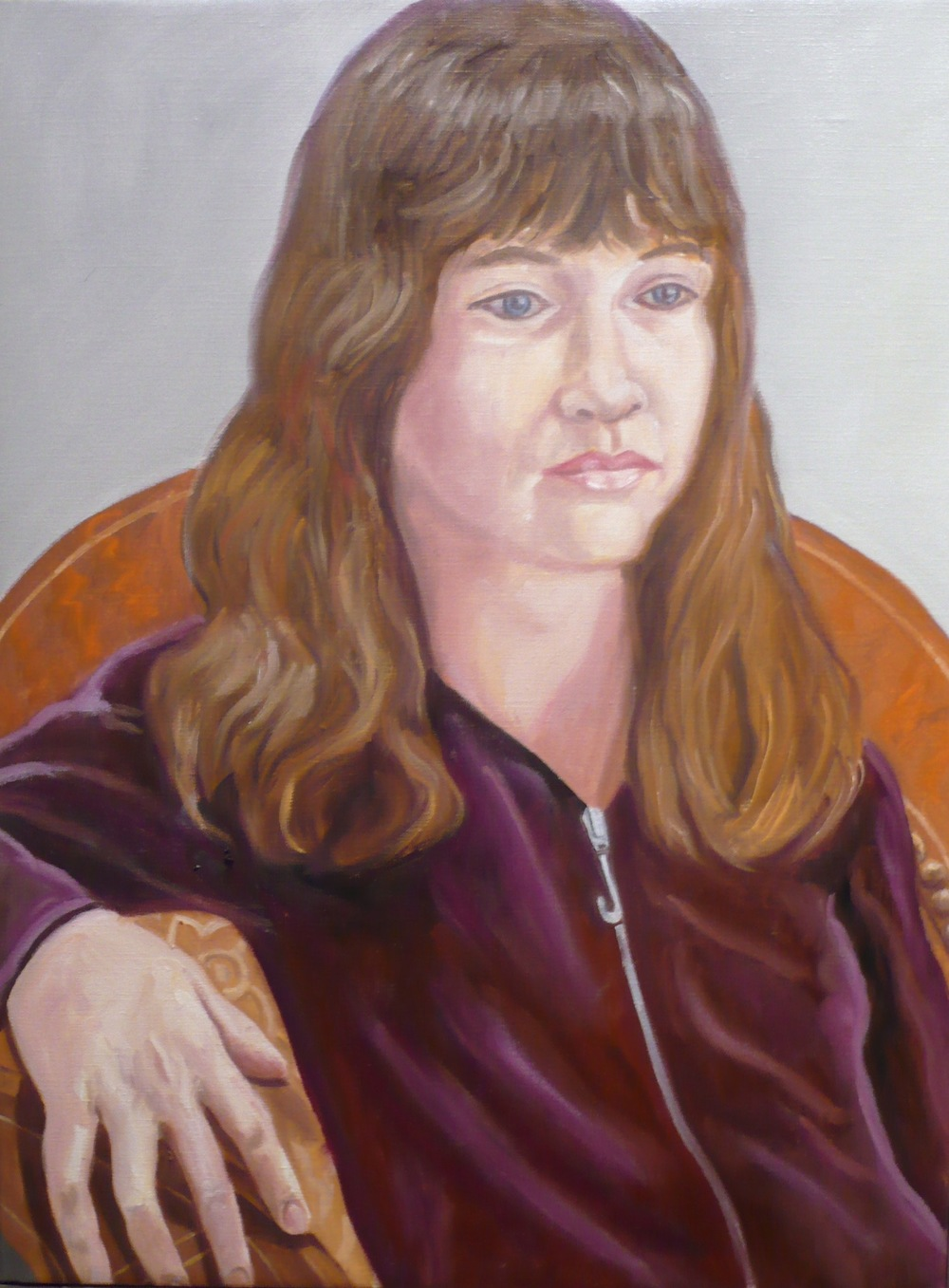 Sophie Pearlstein (Artist's Granddaughter) , 2009 Oil on canvas