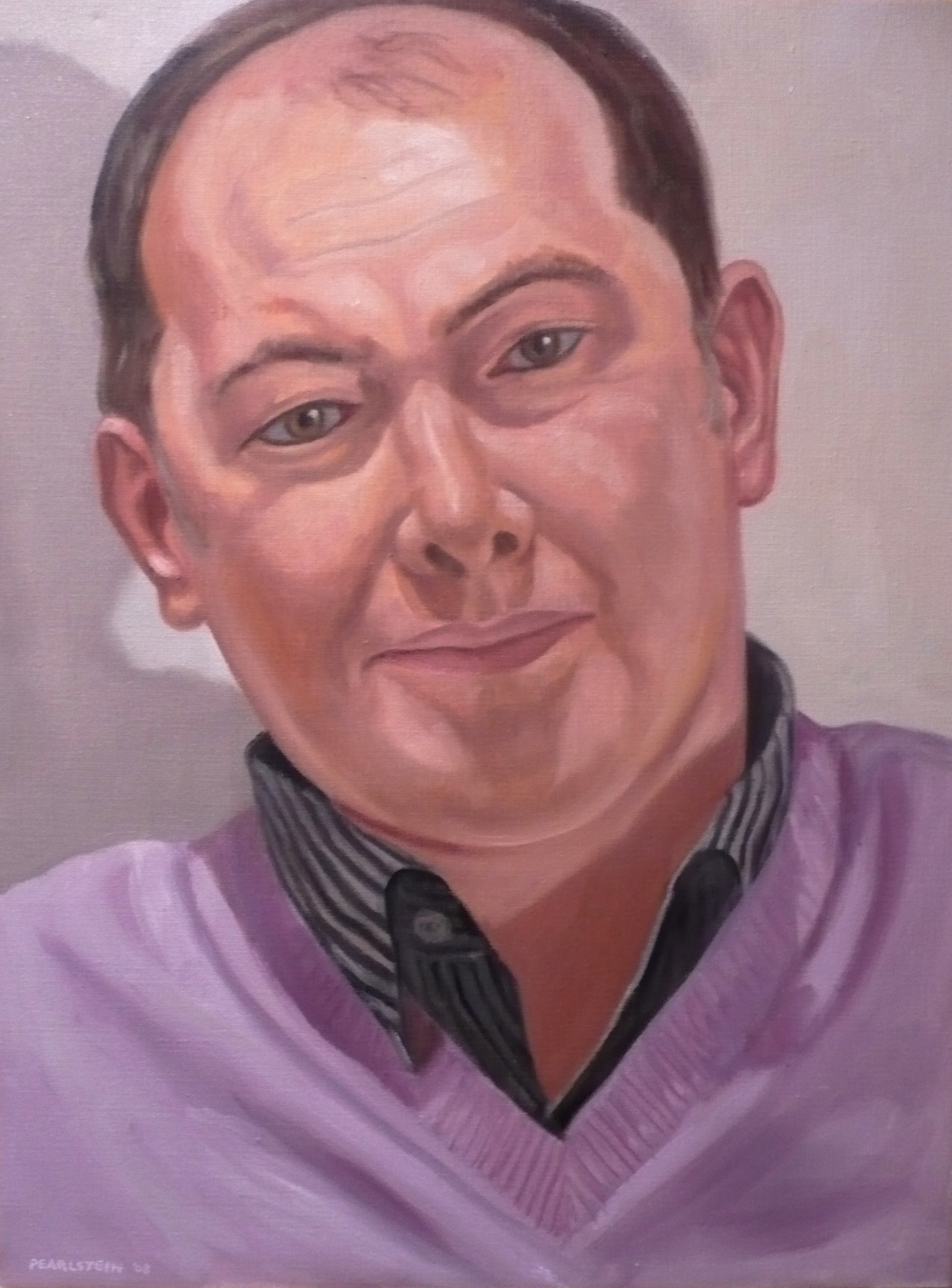 Mike Dooley , 2009 Oil on canvas 18 x 24 in