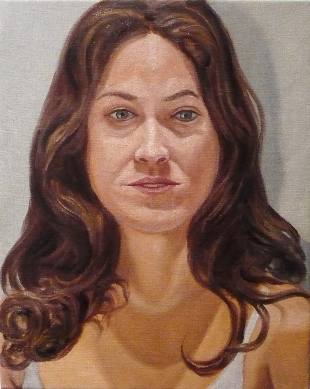 Laura Cantor , 2009 Oil on canvas 20 x 16 in