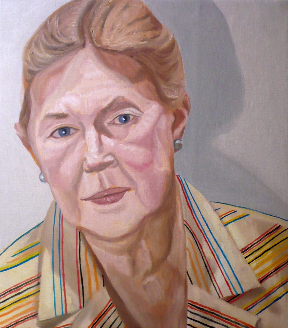 Lucy Sandler , 2008 Oil on Canvas