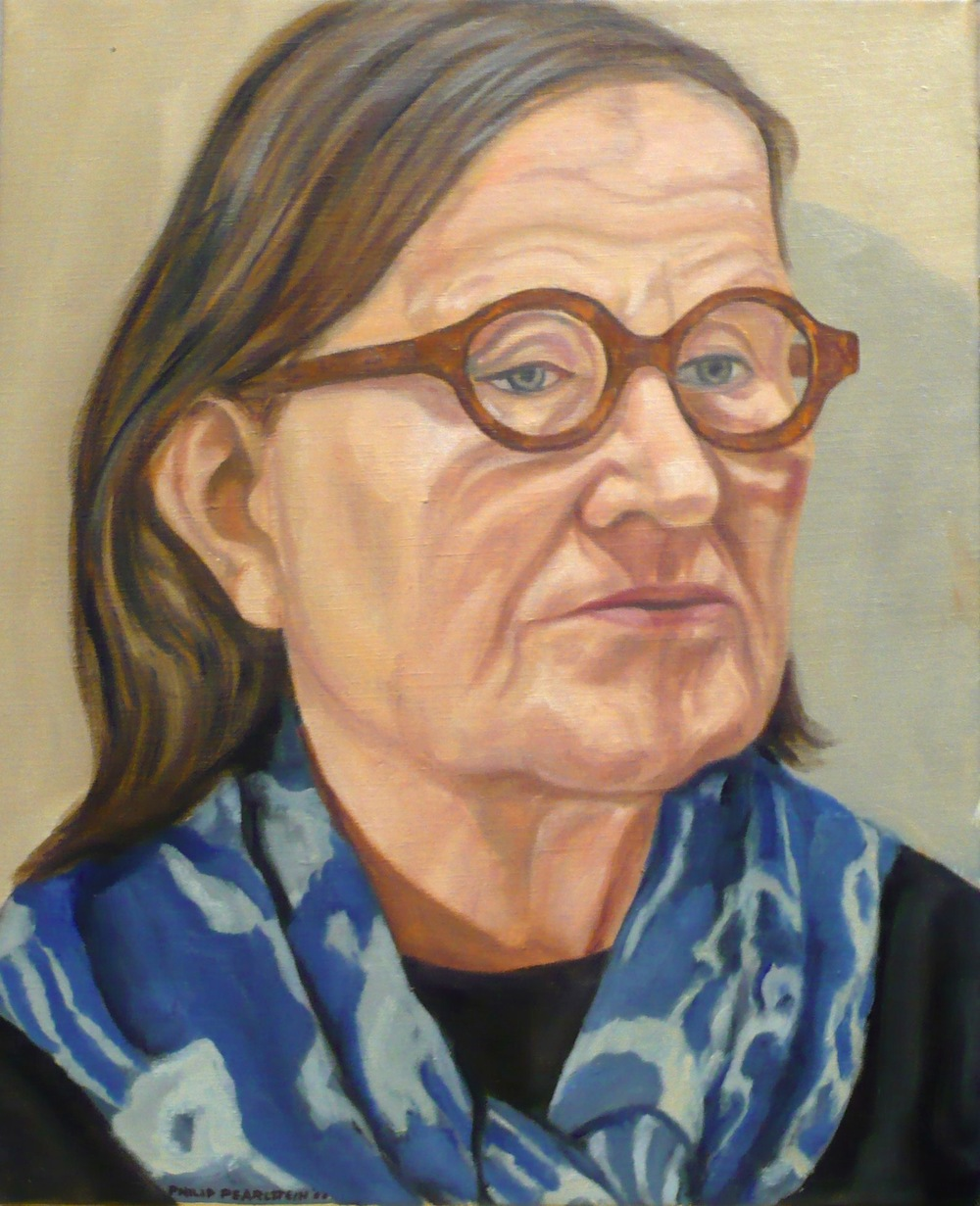 Ellen Lanyon , 2008 Oil on canvas 20 x 16 in