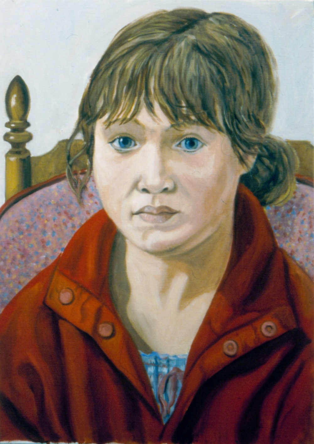 Sophia Rose Pearlstein (Artist's Granddaughter) , 2003 Oil on Canvas