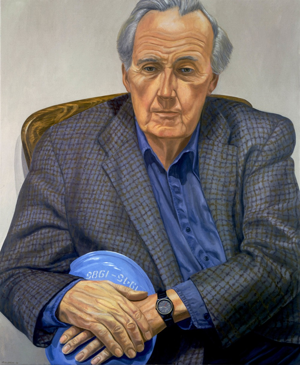 Brian Urquhart , 2002 Oil on canvas