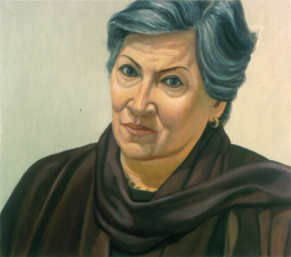 Betsy , 2001 Oil on canvas 26 x 30 in
