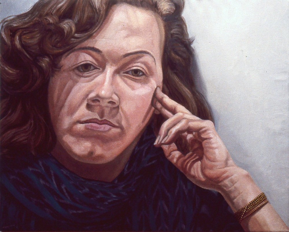 Jamie Lustberg , 1984 Oil on canvas 24 x 30 in