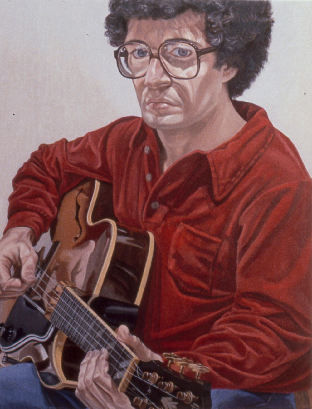 1980, Portrait of William Pearlstein , Oil on canvas, 36x28, 1980_slide.jpg