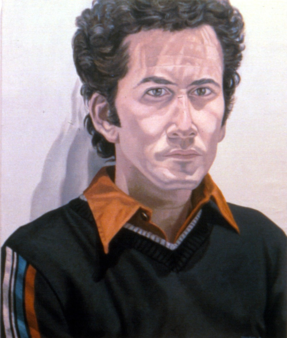 James Aronson , 1980 Oil on canvas 29.75 x 25 in