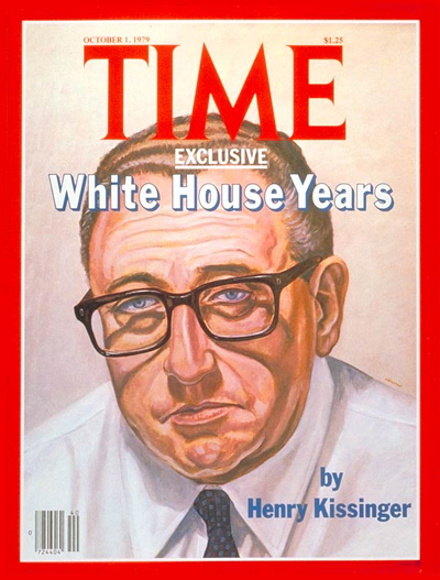 Henry Kissinger for TIME Magazine Cover , 1979 Oil on canvas