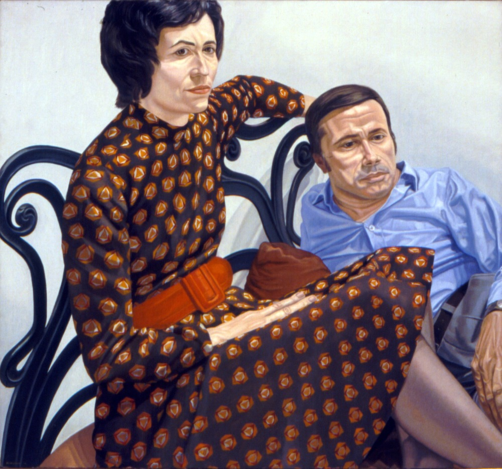 Nina and Martin Sweet , 1975 Oil on canvas 44 x 48 in