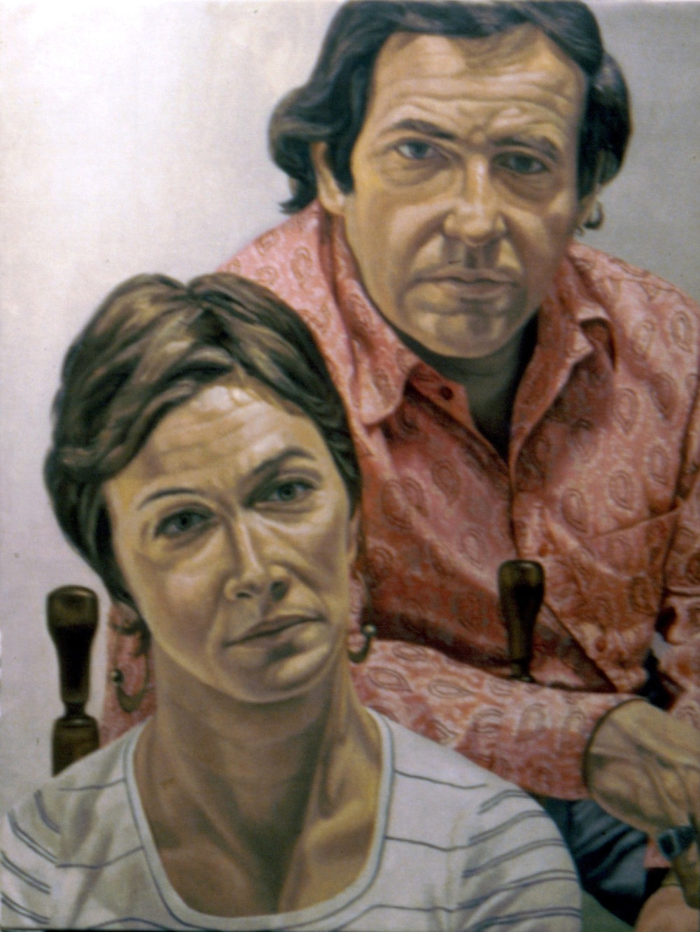 Mr & Mrs Martin Meltzer , 1973 48 x 36 in Oil on canvas