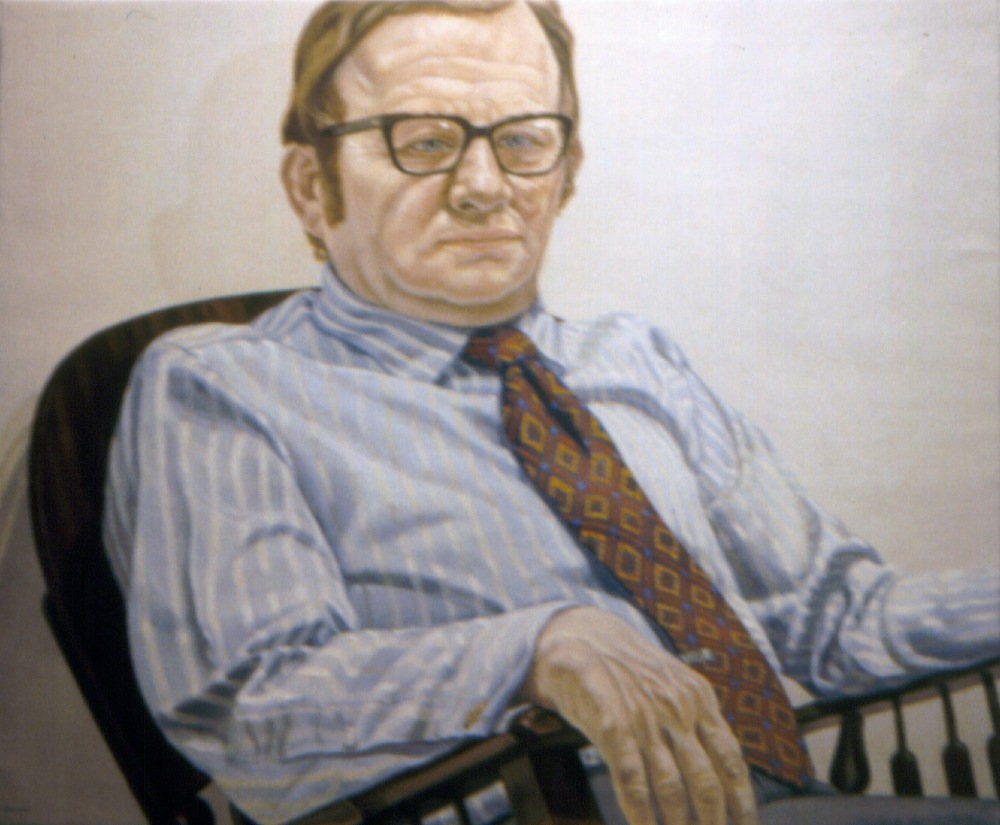 Bernard Pashlinski , 1971 Oil on canvas 42 x 36 in