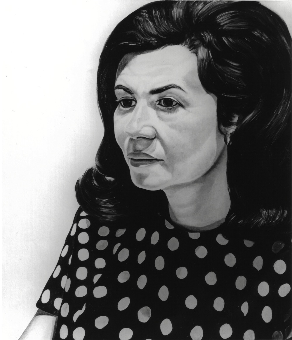 Donna Schneier , 1970 Oil on canvas 30 x 26 in
