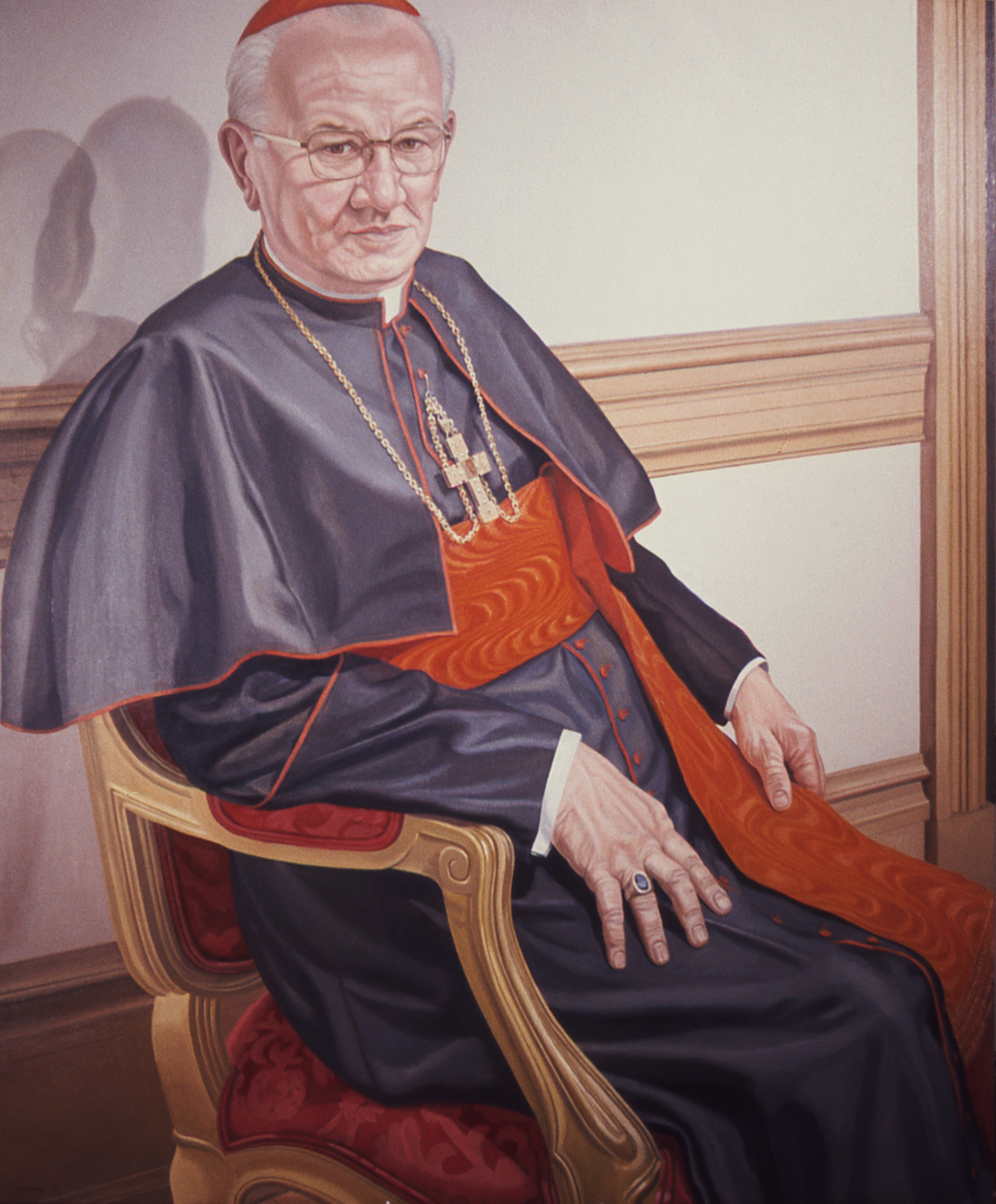 Cardinal J. Krol , 1976 Oil on canvas