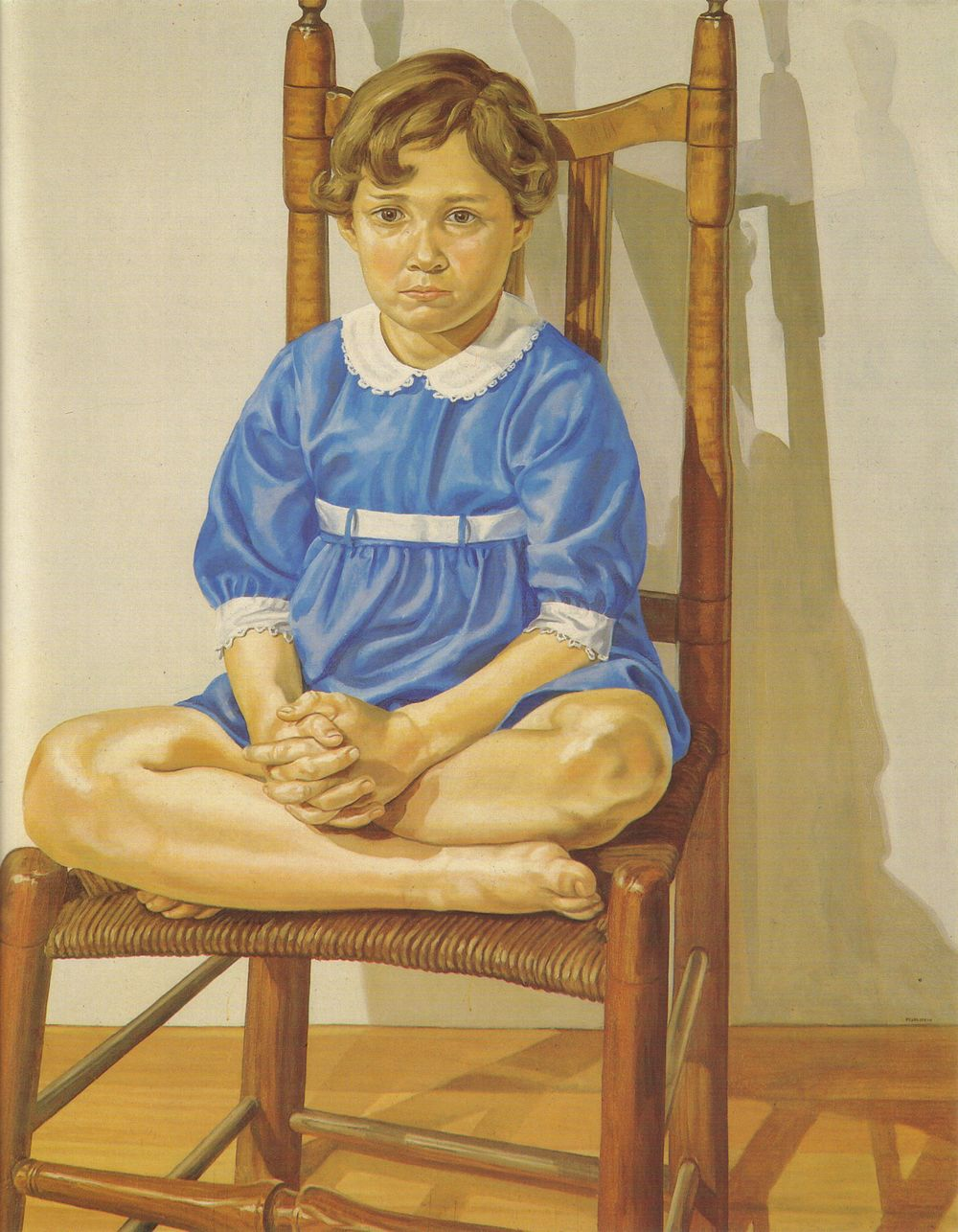 Portrait of the Artist's Daughter , 1969 Oil on canvas 60 x 48 in