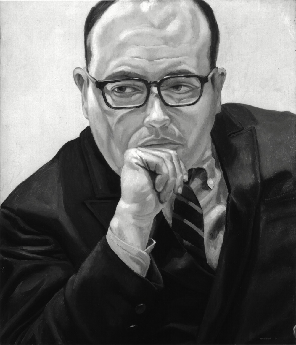 1968, Portrait of Robert Schoelkopf, Oil on canvas, 26x22, 1968.jpg