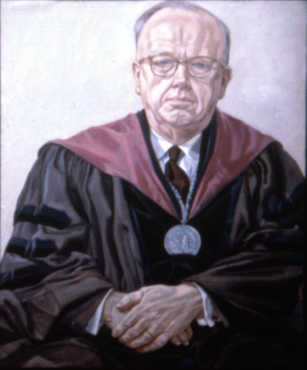 Dr. Kilcoyne , 1968 Oil on canvas 44 x 36 in
