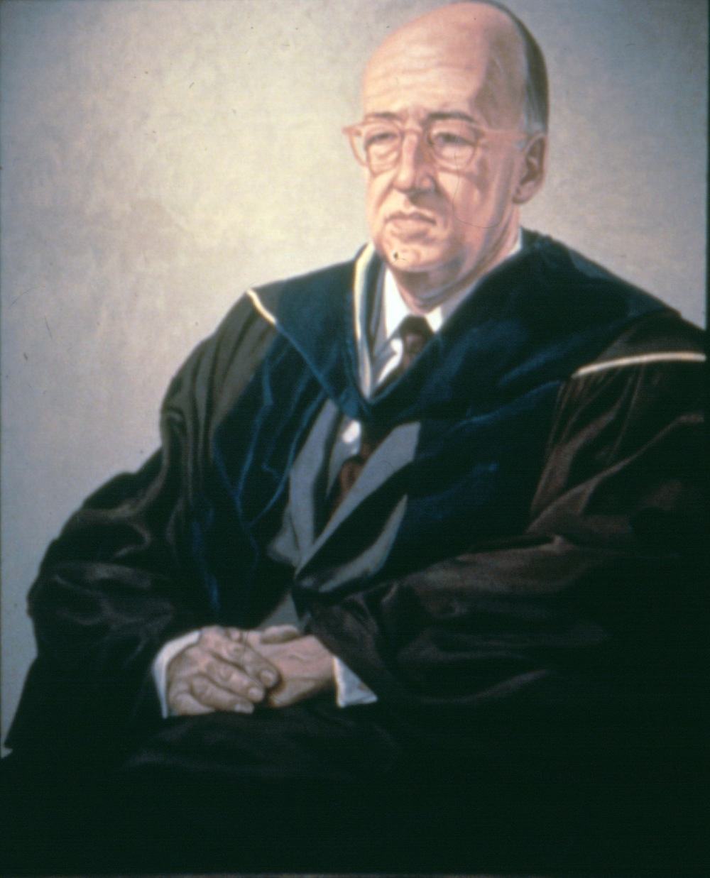 John Mengs, President of Hunter College , 1966 Oil on canvas 60 x 50 in