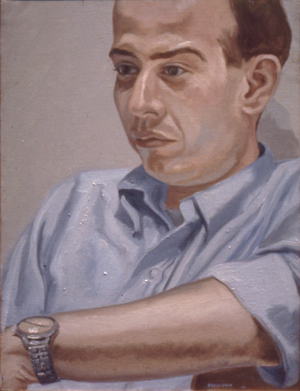 Jerome Viola , 1966 Oil on canvas 20 x 15 in