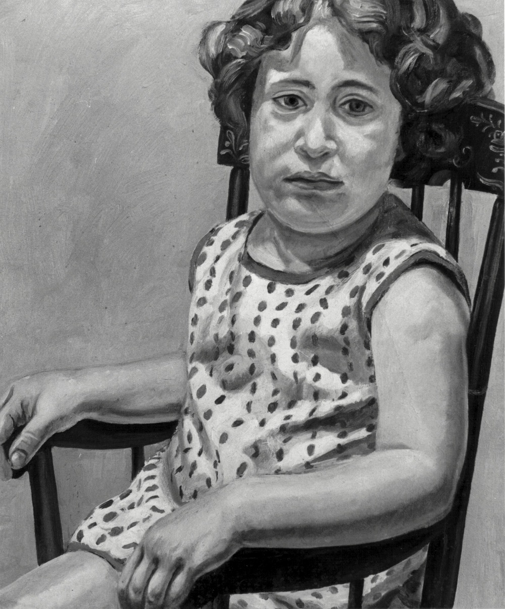 Julia Pearlstein (Artist's Daughter) , 1965 Oil on canvas 24.5 x 20 in,