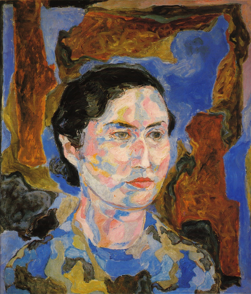 Portrait of Dorothy , 1950 Casein tempera on masonite 26.5 x 24 in