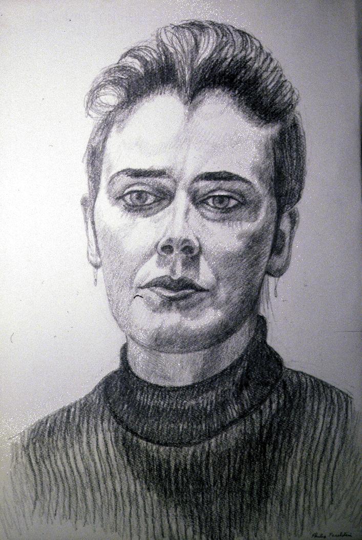Christine,  1986 Pencil