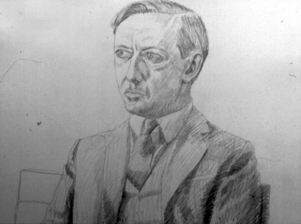 Philip Pearlstein-Portraits Drawing Philip Pearlstein Drawing