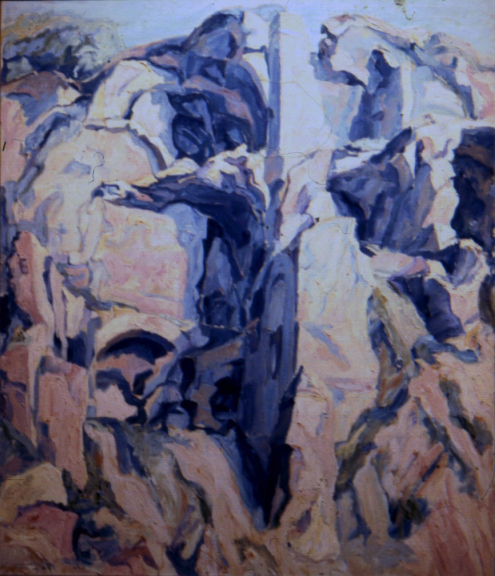 Palatine #3 , 1959 Oil on canvas 44 x 36 in