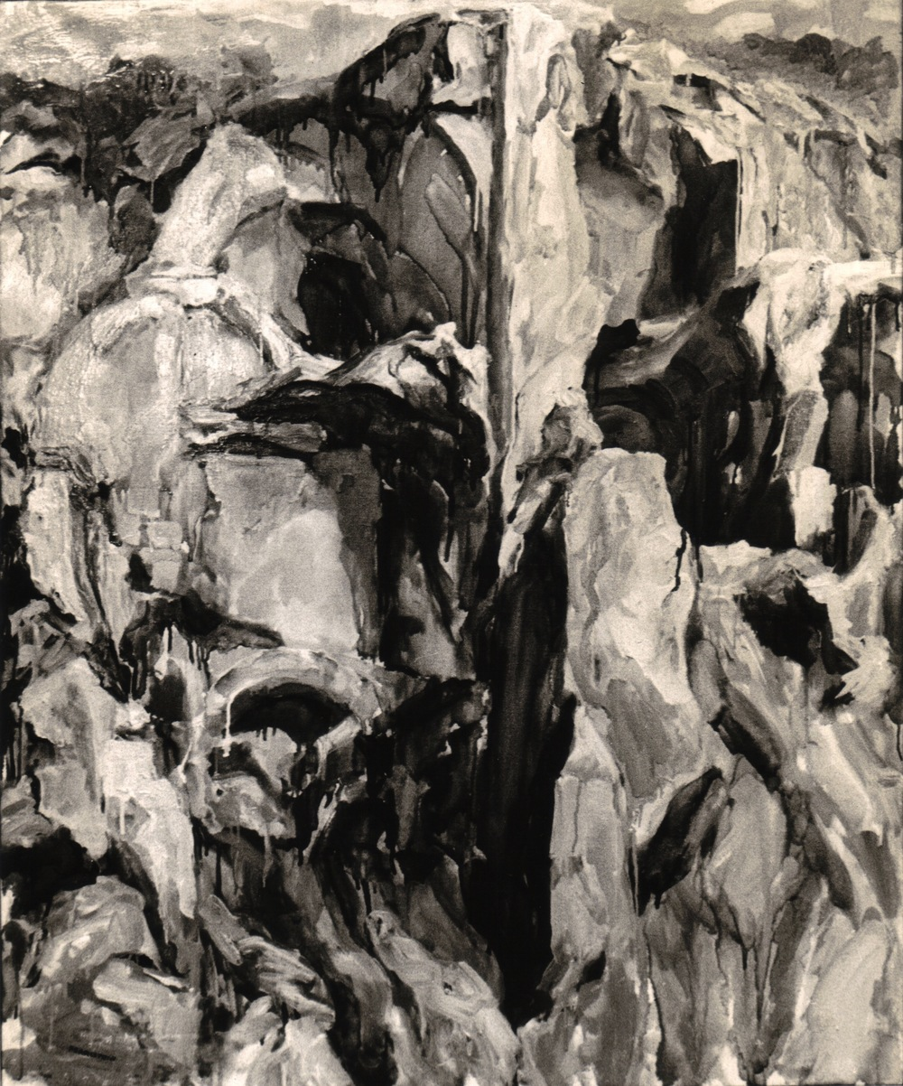 Palatine #3 , 1959 Oil on canvas 44 x 36 in (B&W image)