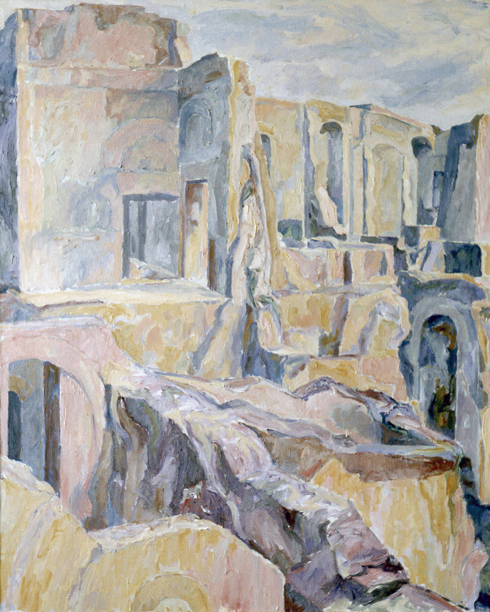 Palantine #2 , 1958-59 Oil on canvas 48 x 43 in