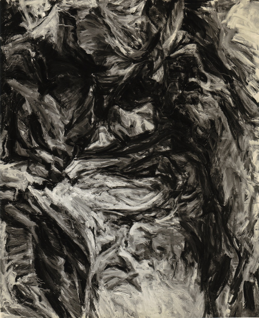 Cave Forms , 1956 Oil on canvas 41 x 51 inches