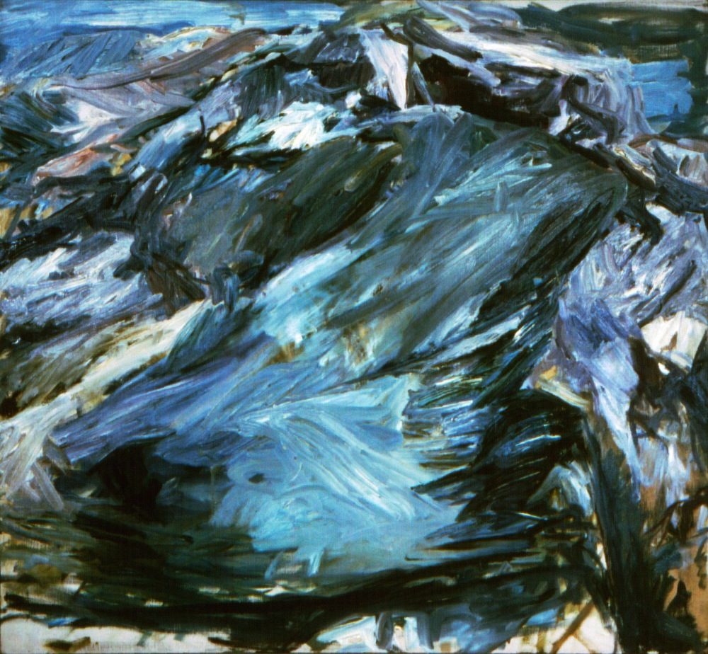 The Point,  1955 Oil on canvas 40 x 44 in
