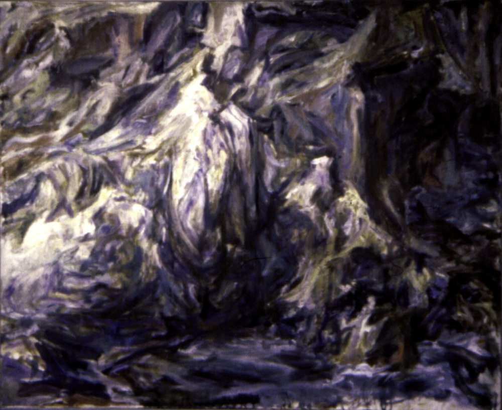 Rocks , 1955 Oil on canvas