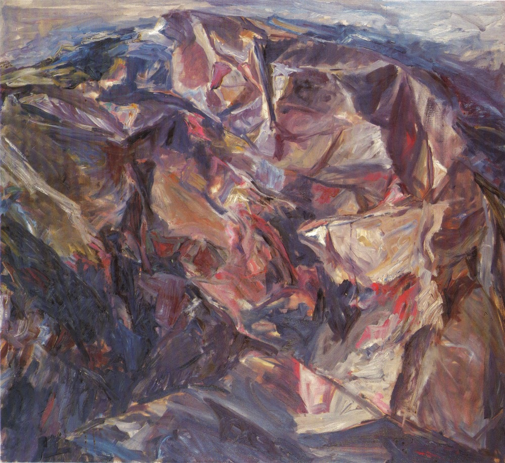 Moonlit Landscape , 1955 Oil on canvas 44 x 48 in