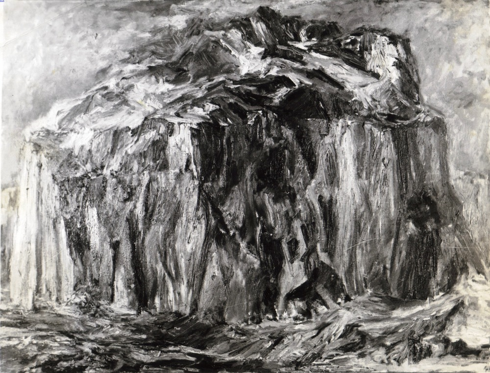 Landscape #1 , 1955 Oil on canvas 30 x 40 in