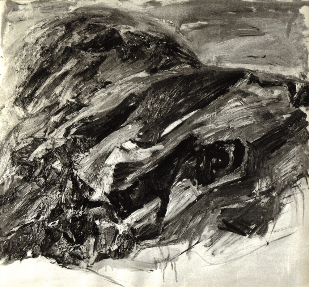 Windswept , 1954 Oil on canvas Dimensions unknown