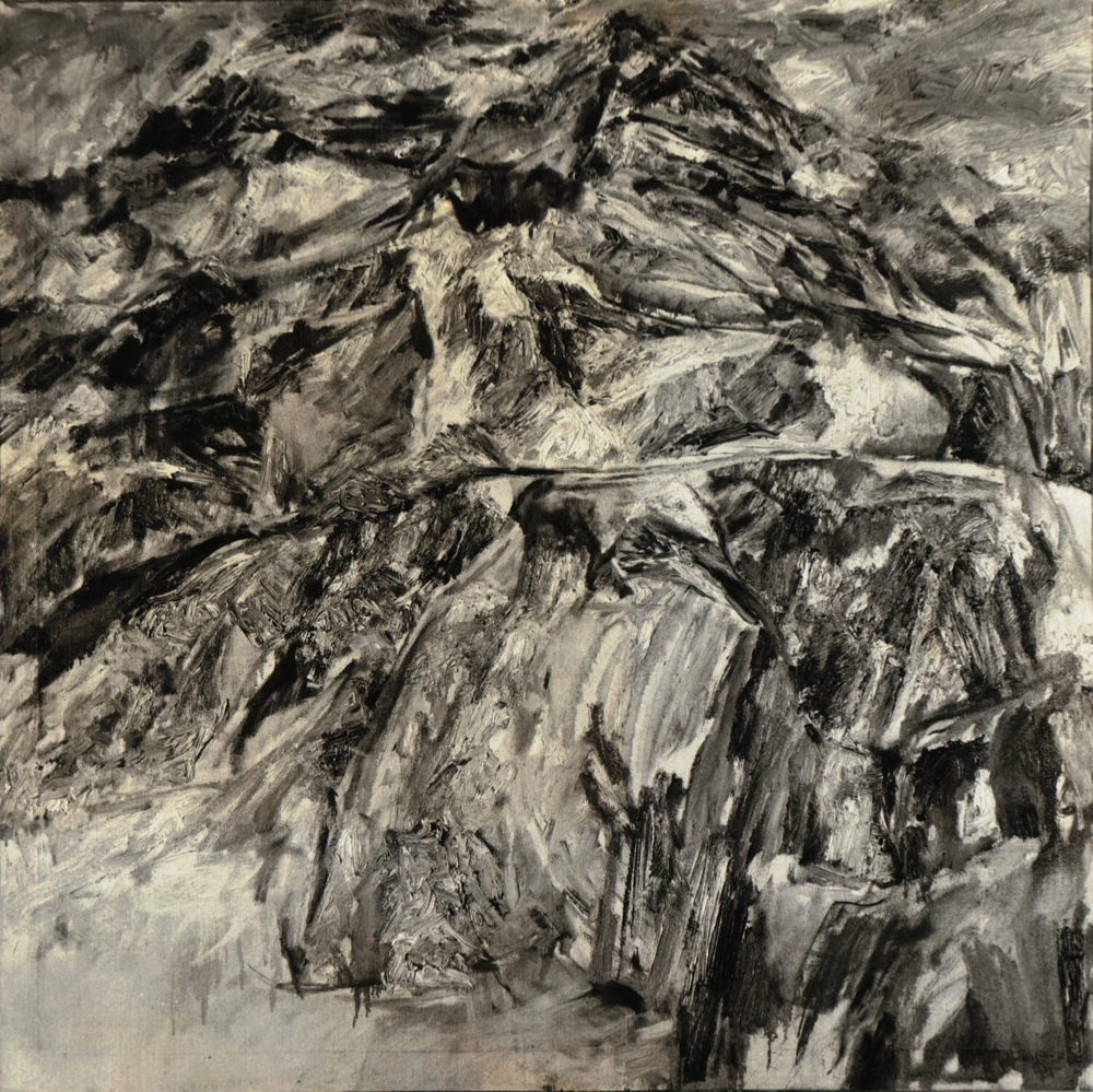 Landscape #3 , 1954 Oil on canvas 38 x 38 in