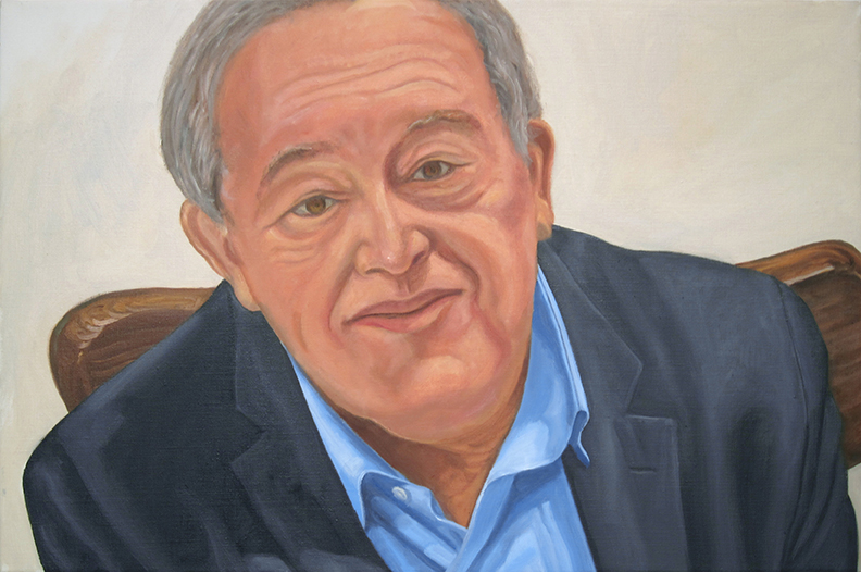 David Harman , 2014 Oil on canvas 20 x 30 in