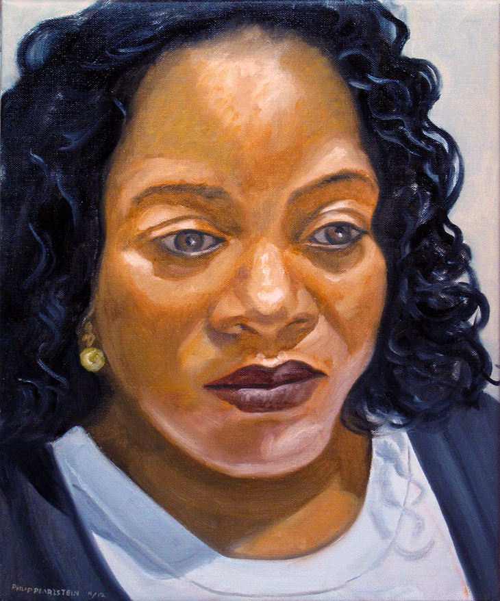 Carmen Robinson , 2012 Oil on canvas 14 x 11 in