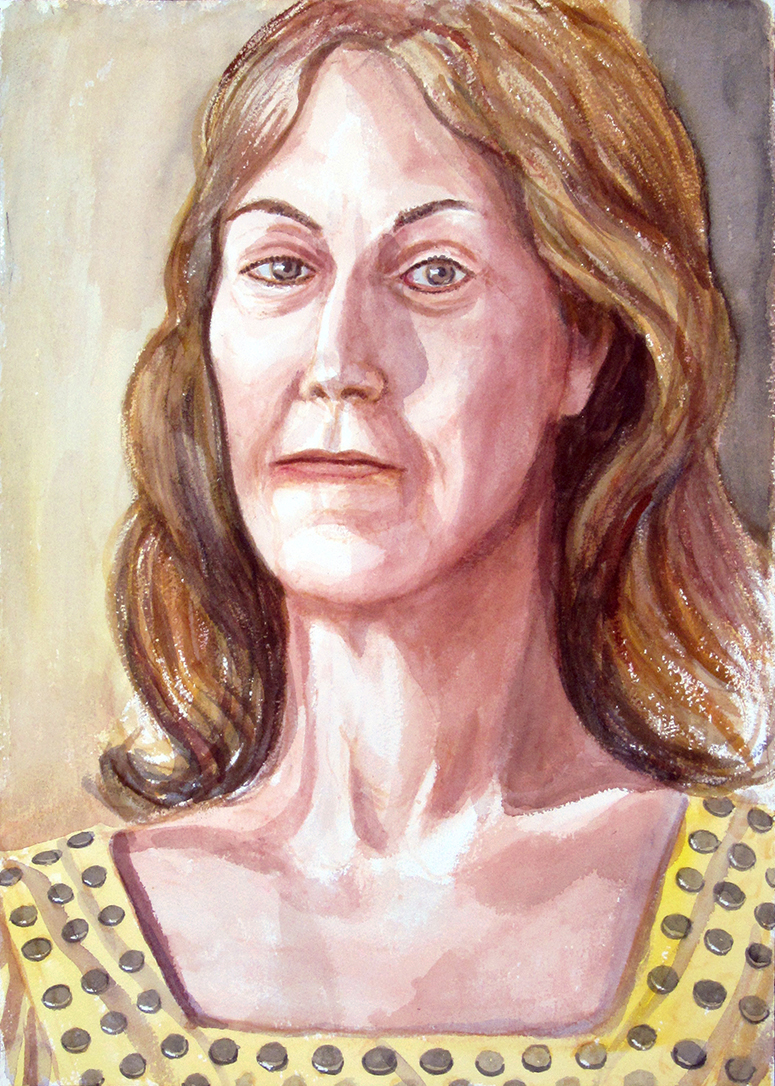 Donna Beebe , 2012 Watercolor 20 x 14.125in