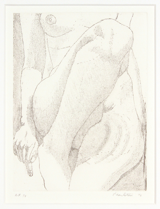 Small Nude , 1976 Etching, Aquatint 8 x 6 in