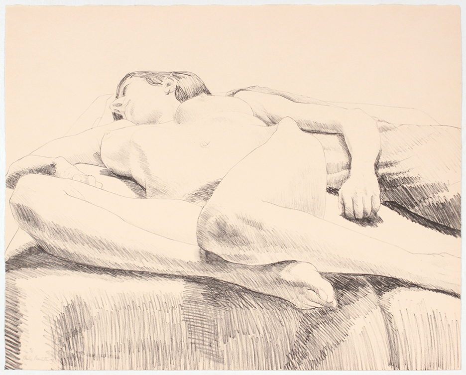 Knees Front , 1968 Lithograph 46 x 64.3 cm
