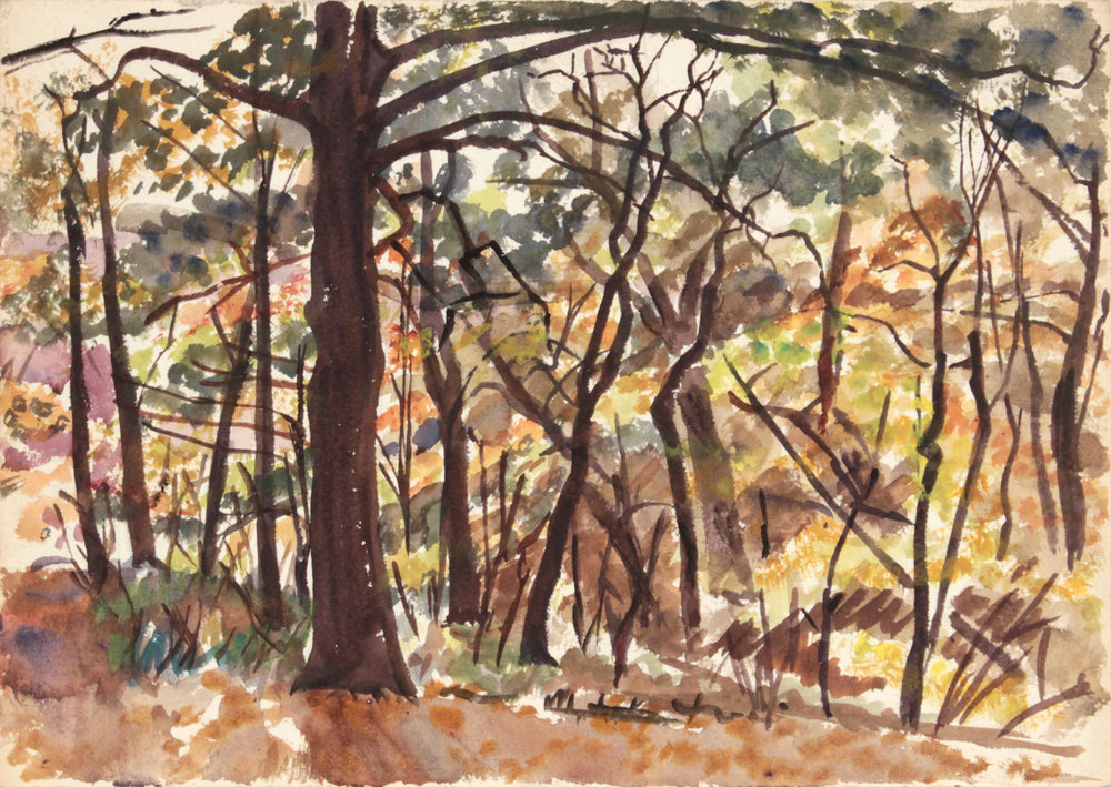 146. 1946 Fall, NT, Watercolor, 9.875x14, PPS 1343.JPG