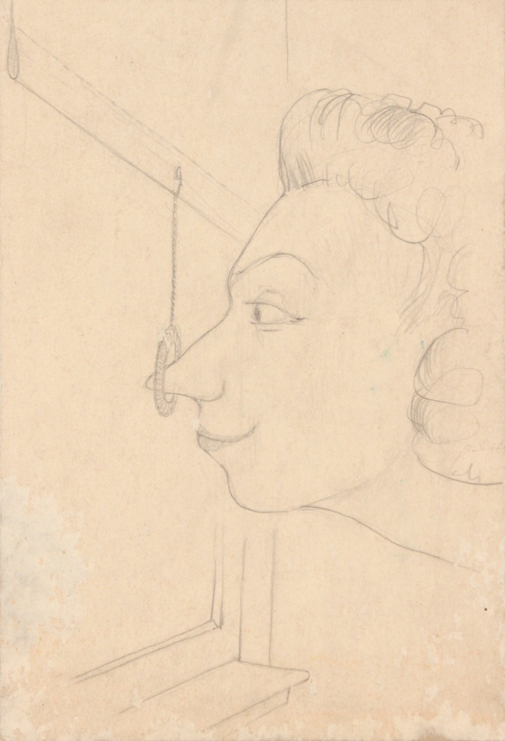 2. 1947-48 c, Image 36.11_The Artist's Aunt, Graphite on Board, 12x9.25, PPS 1425.JPG